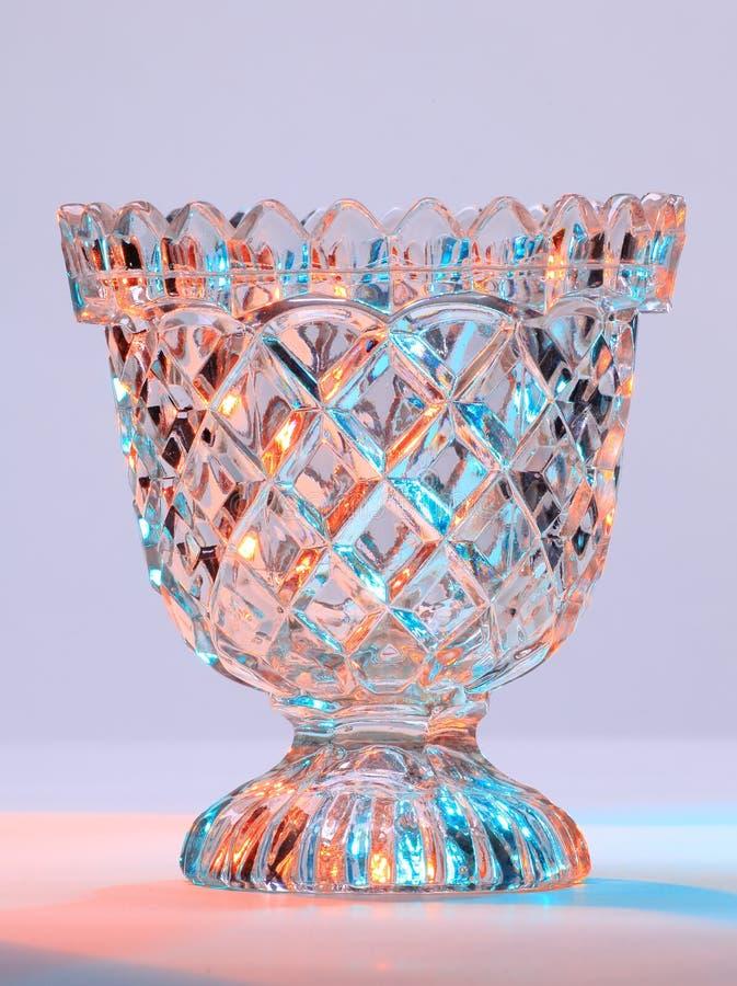 Glas-Schüssel Lizenzfreie Stockfotos