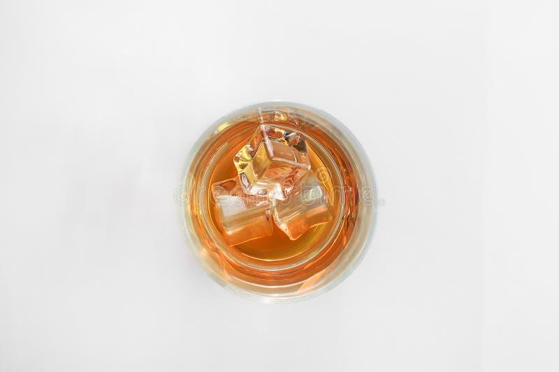 Glas Schotse whisky royalty-vrije stock afbeelding