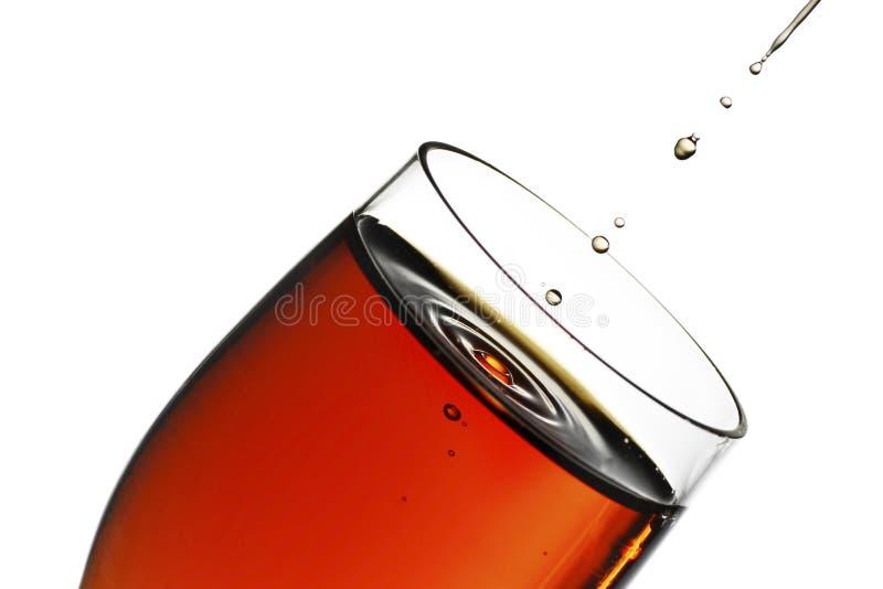 Glas Sherry stockfotografie