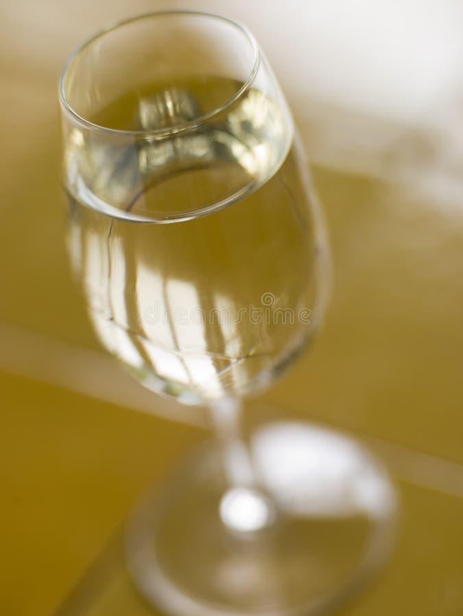 Glas spanischer trockener Sherry stockbilder