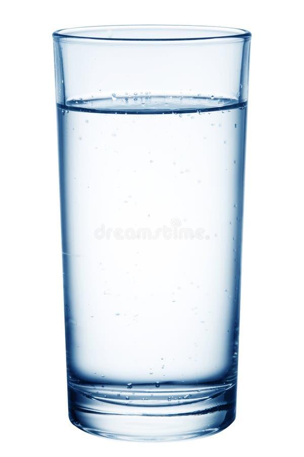 Glas Tabellewasser. stockfotos