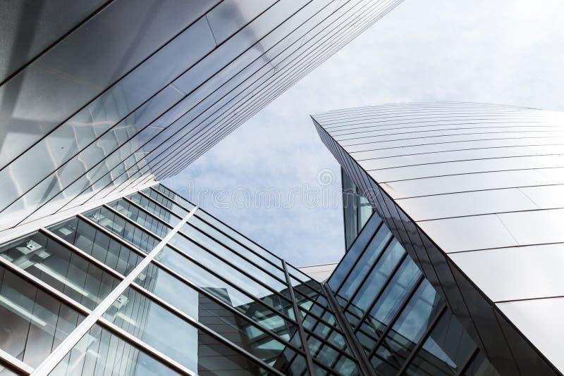 Glas und Stahl von Walt Disney Concert Hall stockfoto