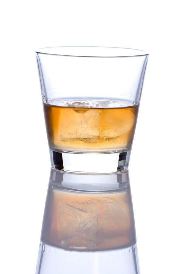 Glas van alcohol stock fotografie