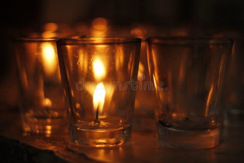 Glas van brand royalty-vrije stock afbeeldingen