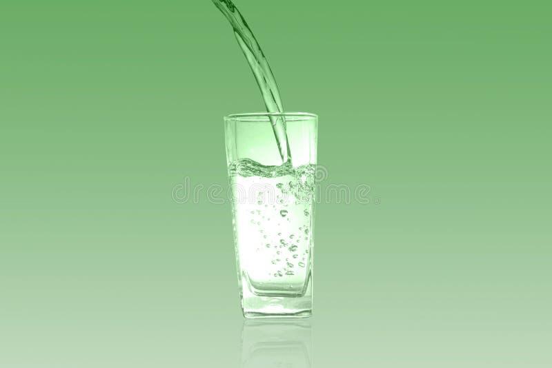 Glas van chlorofyl Groene toon stock foto's