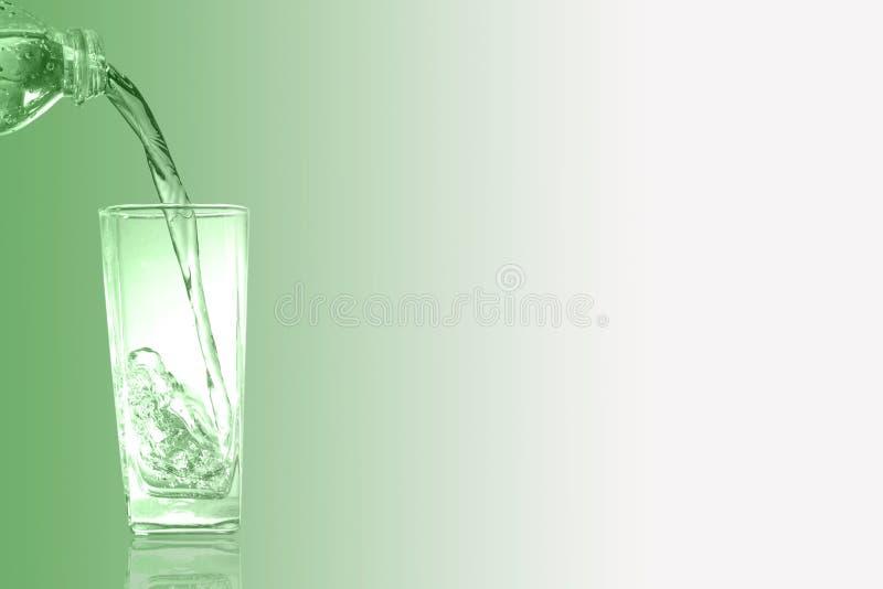 Glas van chlorofyl Groene toon stock fotografie