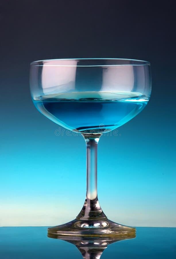 Glas van cocktail stock foto