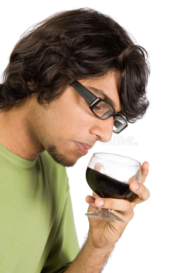 Glas van drank stock foto's