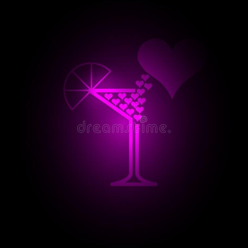 Glas van Liefde stock foto's