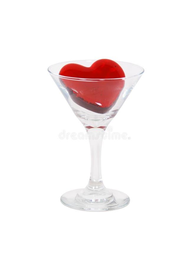 Glas van liefde royalty-vrije stock fotografie