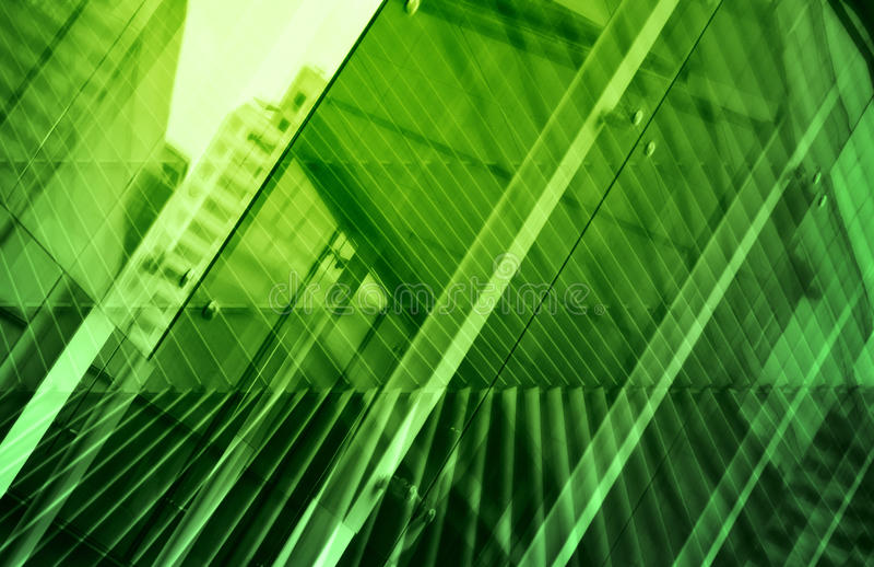 Glas van moderne toren stock afbeeldingen