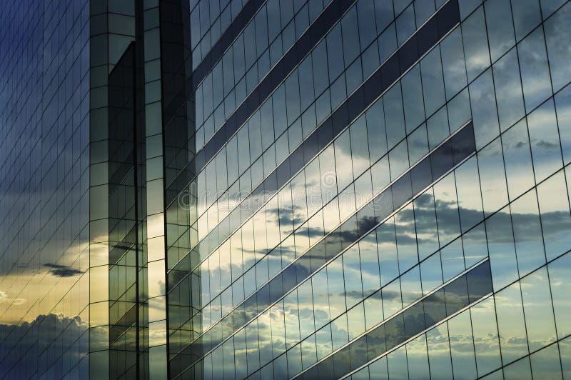 Glas van moderne toren royalty-vrije stock afbeelding