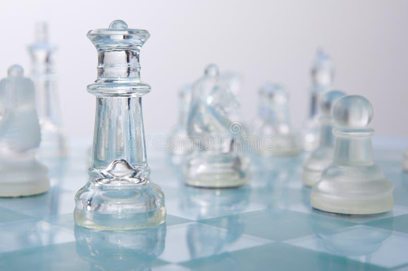 Download Glas van schaak stock foto. Afbeelding bestaande uit koning - 29500676