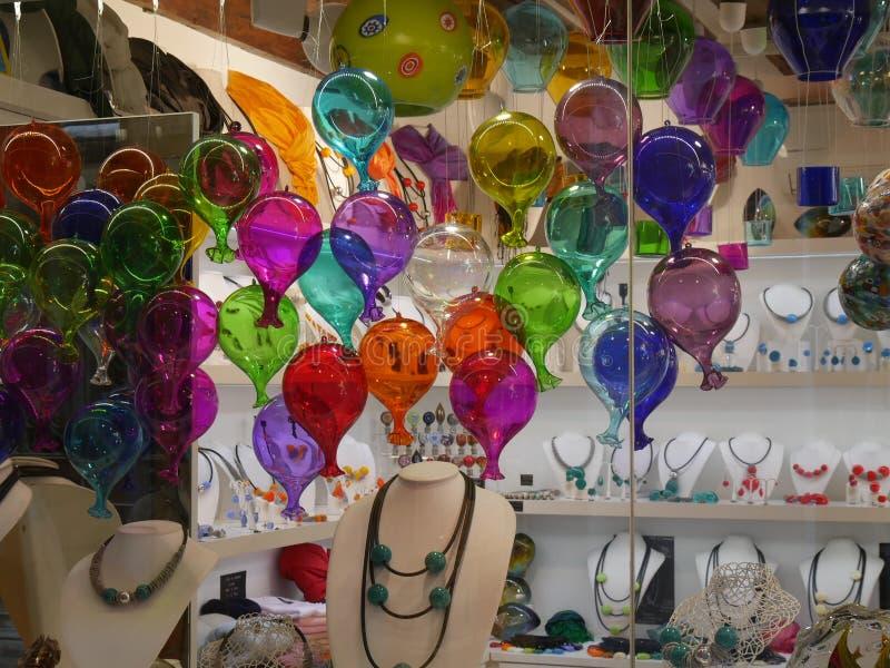 Glas Venetië - Murano stock afbeeldingen