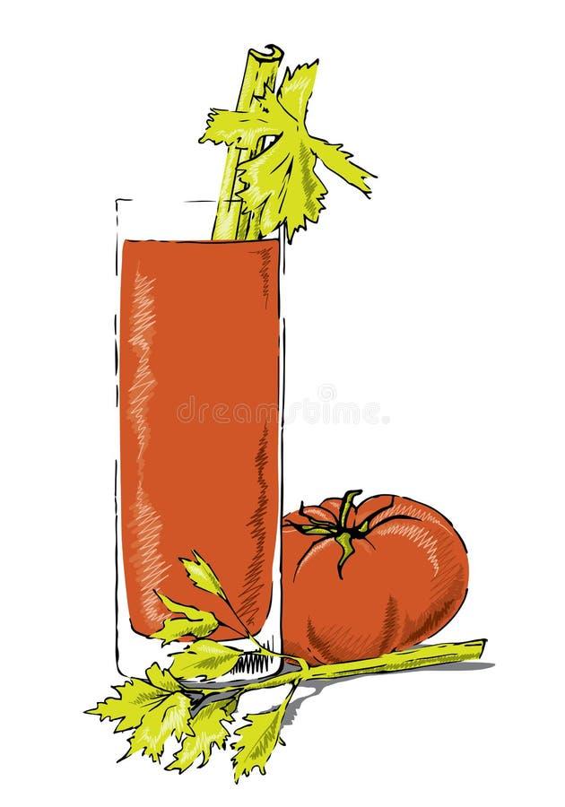 Bloody Mary vektor abbildung