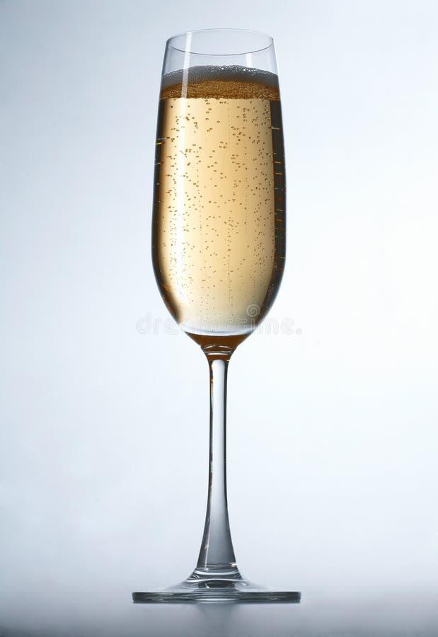 Glas von Champagne stockfotografie
