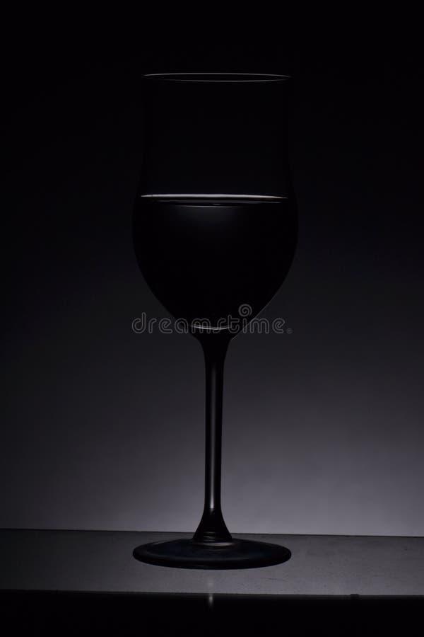Glas voor wijn royalty-vrije stock afbeeldingen