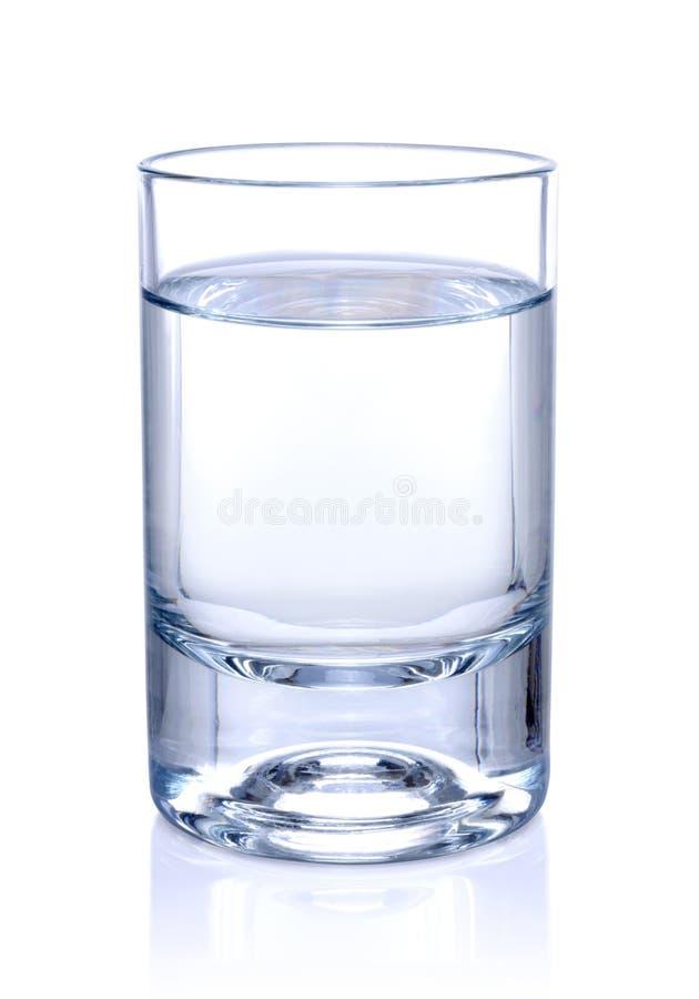 Glas Wasser stockfotos