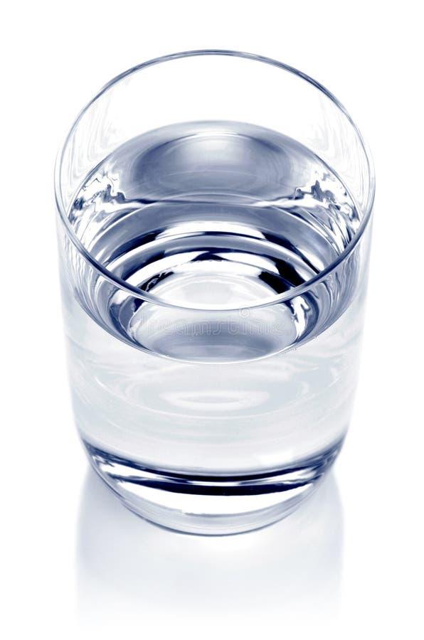Glas water royalty-vrije stock foto's