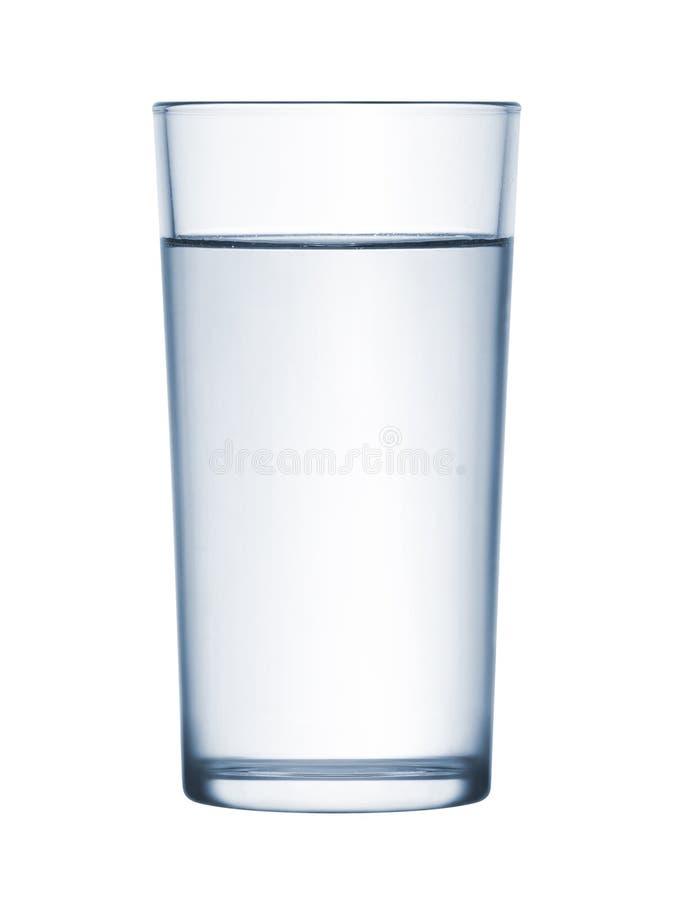 Glas water royalty-vrije stock afbeelding