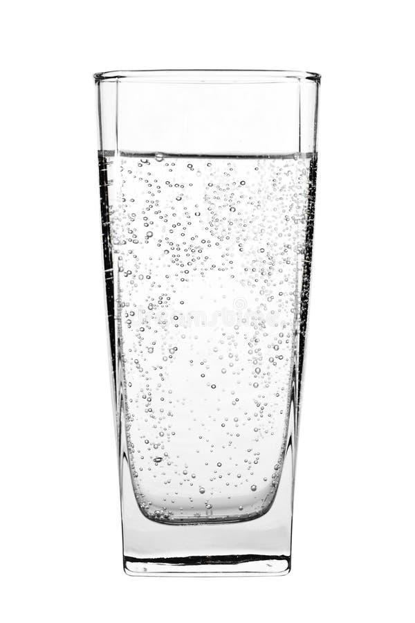 Glas water royalty-vrije stock foto