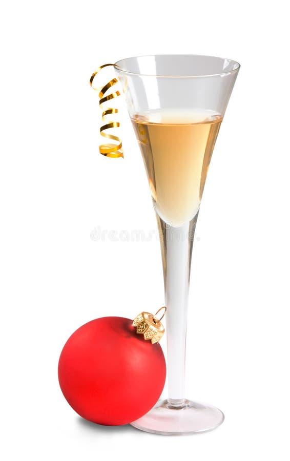 Glas Wein stockbild
