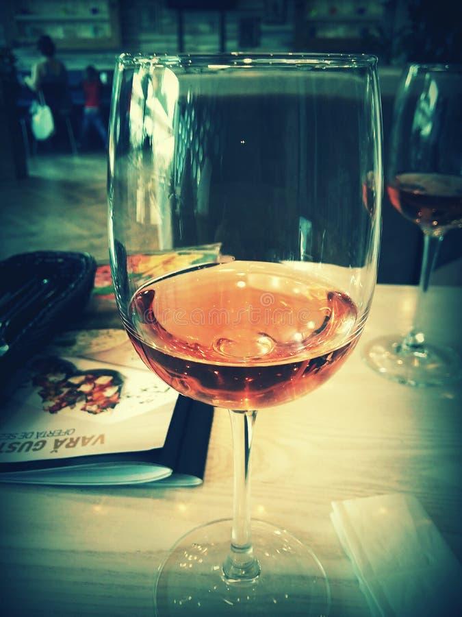 Glas Wein stockfotos