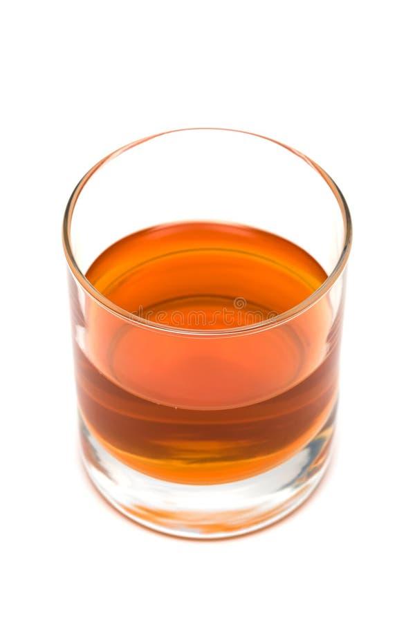 Glas wisky royalty-vrije stock foto's