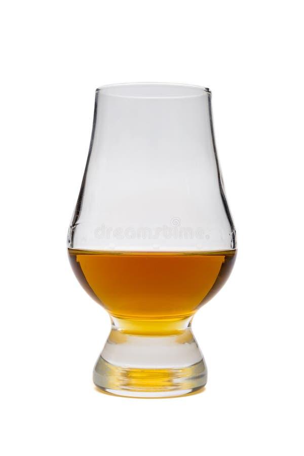 Glas wiskybourbon, rum royalty-vrije stock foto's
