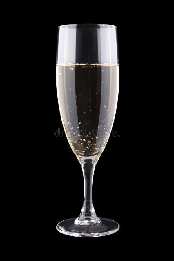 Glas witte wijn royalty-vrije stock fotografie