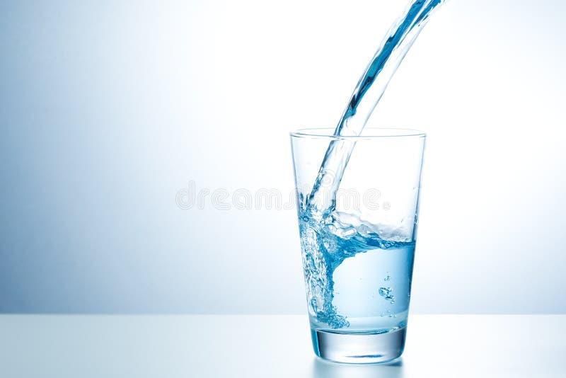 Glas zoet water stock fotografie
