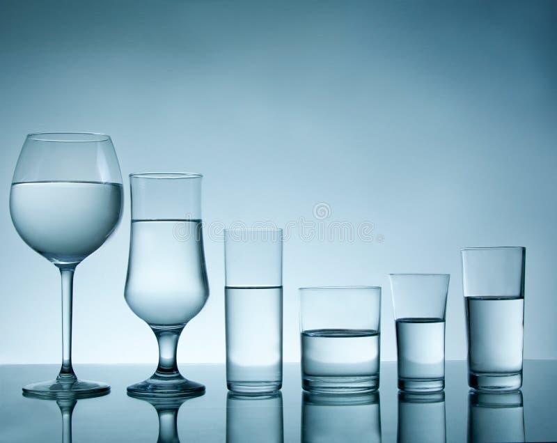 Glasansammlung lizenzfreie stockbilder