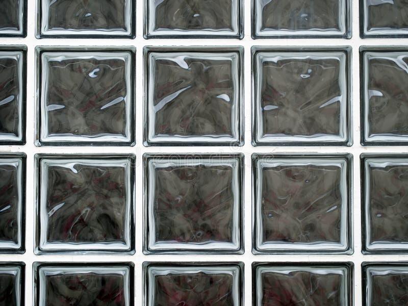Glasat fönster för Glass kvarter dubblett, raster arkivfoto