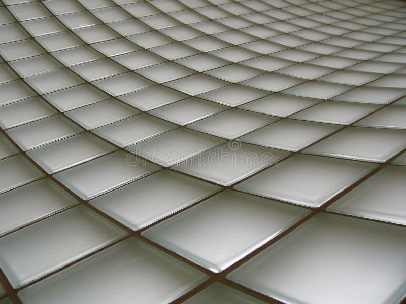 GlasBacksteinmauer stockfotografie