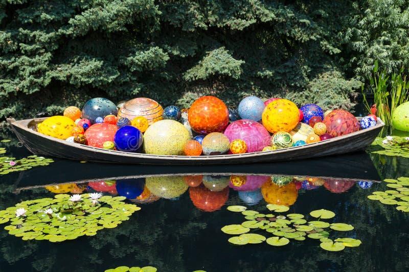 Glasballen in Kano stock afbeeldingen