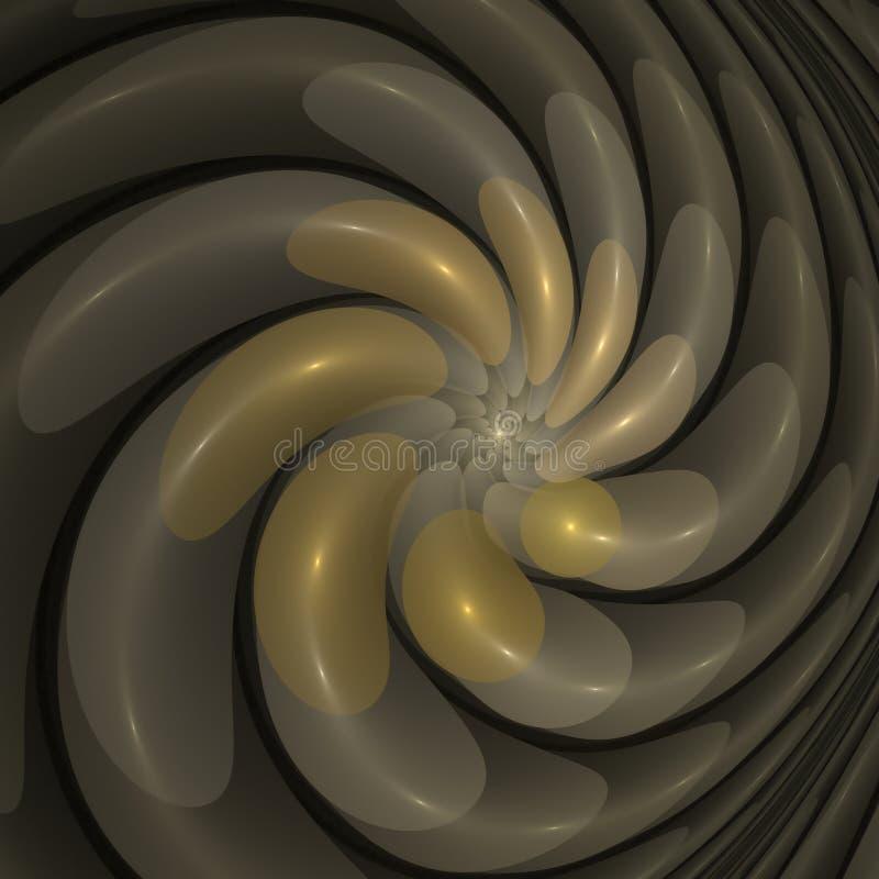 Glasblumenblätter vektor abbildung