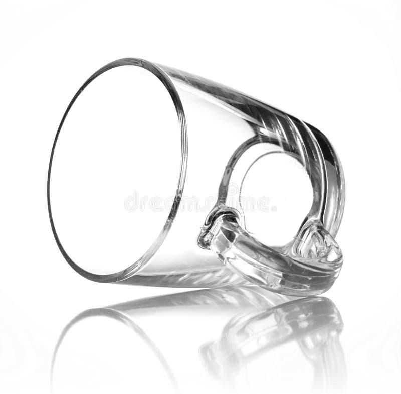 Glascupschwarzes stockfoto