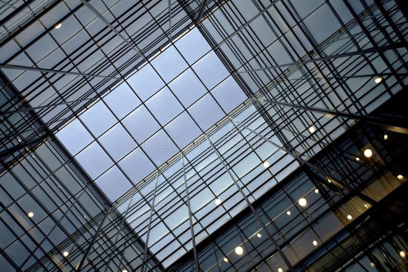 Glasdach lizenzfreie stockfotografie
