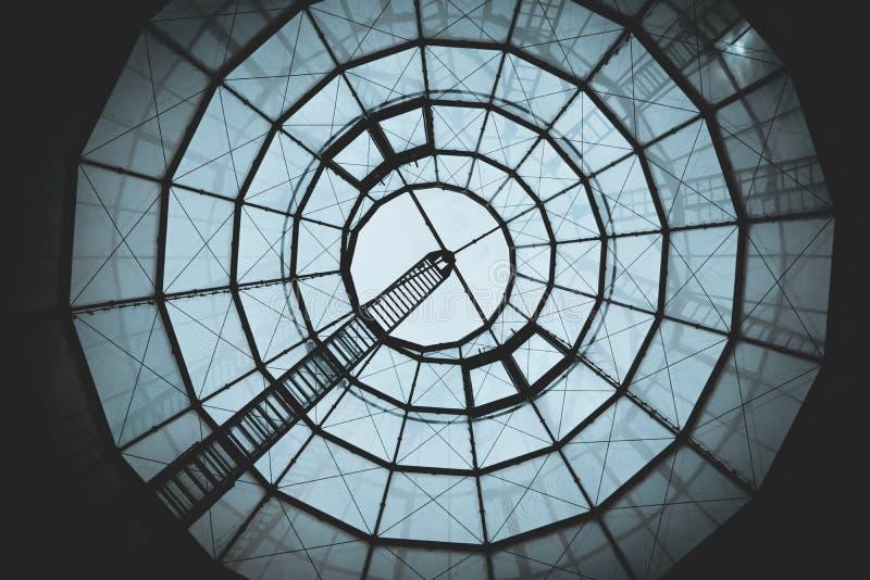 Glasdach von in Oberhausen Deutschland stockfoto