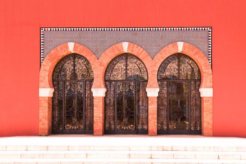 Glasdeuren royalty-vrije stock afbeelding