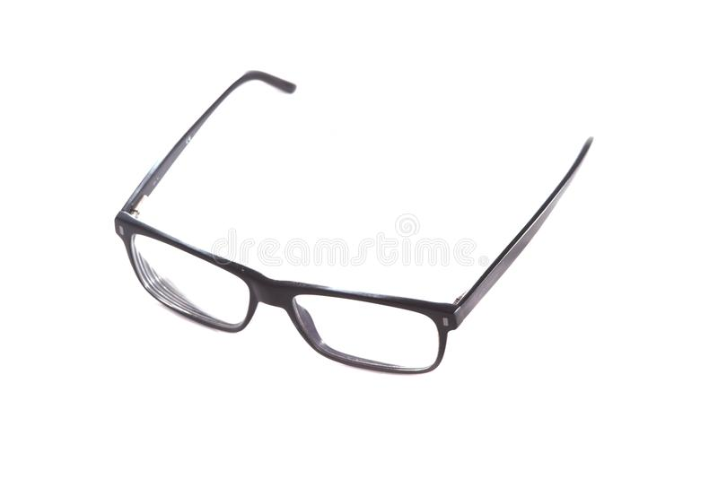 Glasess to look into the future stock photos
