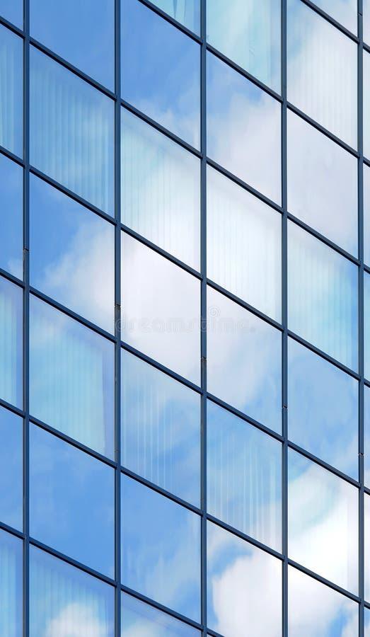 Glasfassade stockfoto