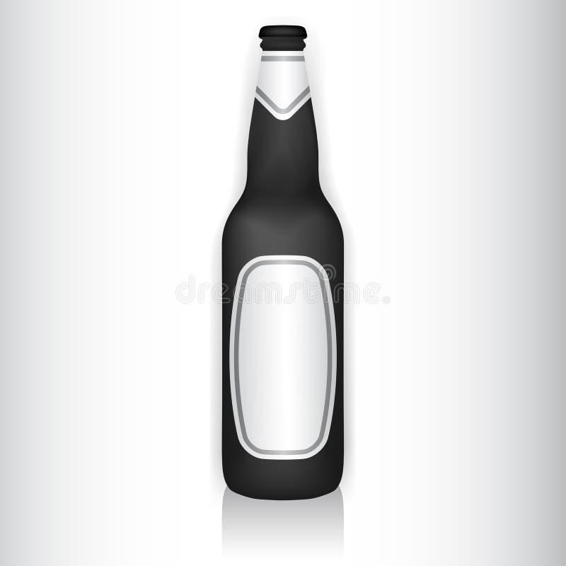Glasflasche vektor abbildung