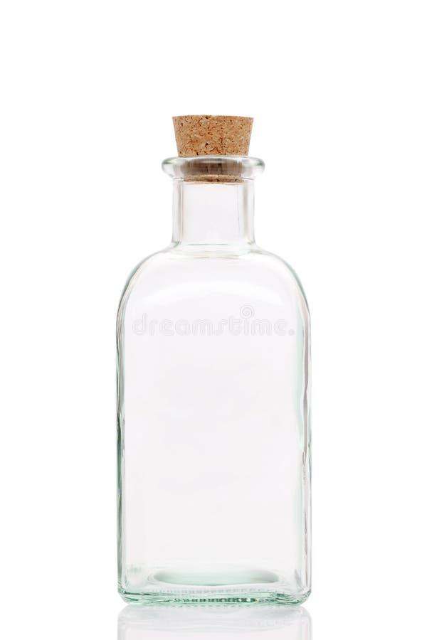 Glasflasche stockfotografie