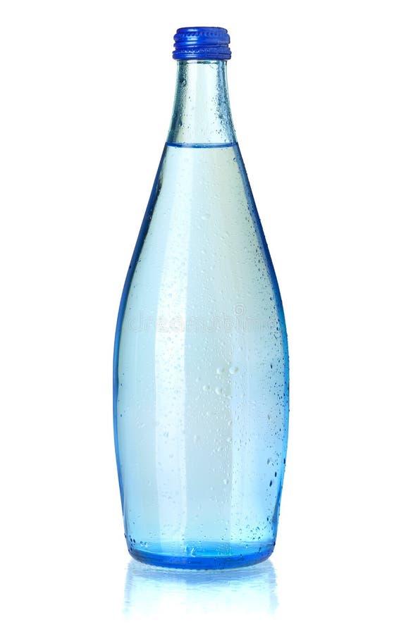 Glasflasche Sodawasser stockfotografie