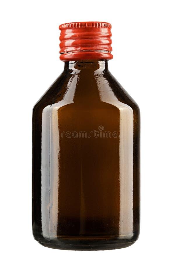 Glasfles voor medisch product royalty-vrije stock foto
