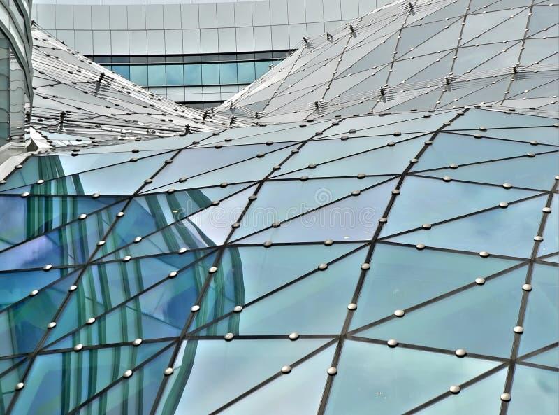 Glasgebäudedach lizenzfreies stockfoto