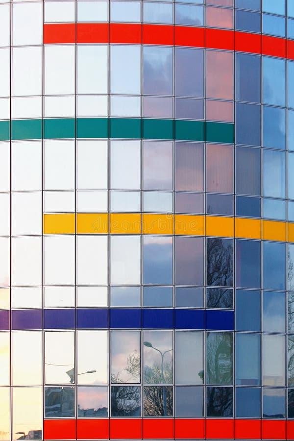Glasgebäudedetail lizenzfreie stockfotografie