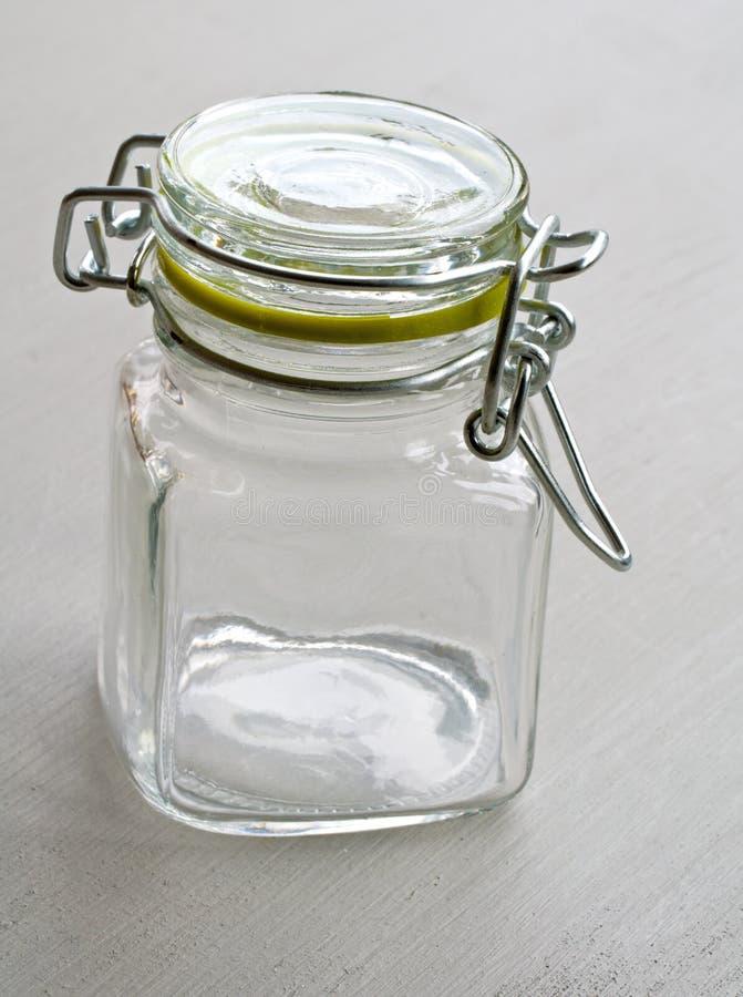 Glasgefäß stockfoto
