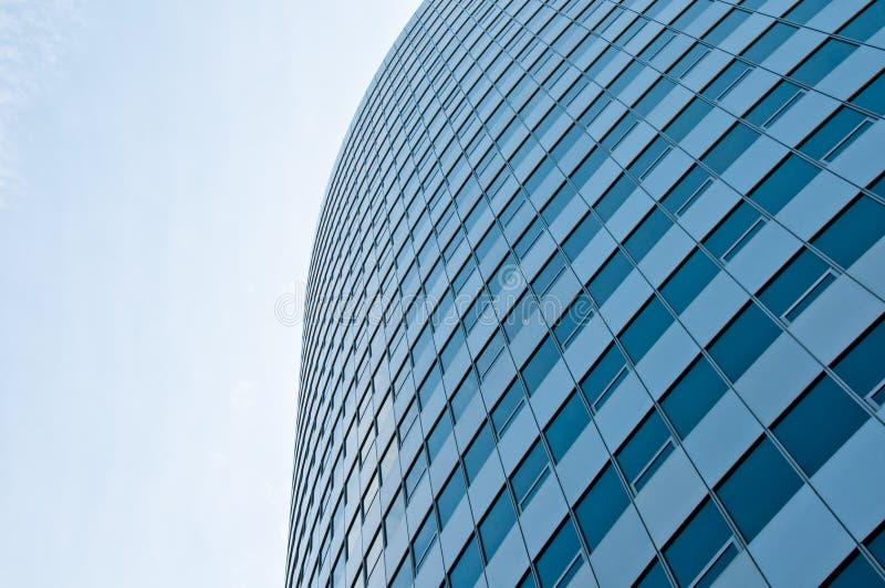 Glasgeschäftsgebäude stockfotos